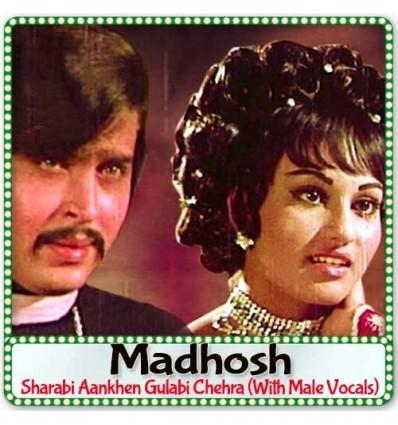Sharabi Aankhen Gulabi Chehra (With Male Vocals)