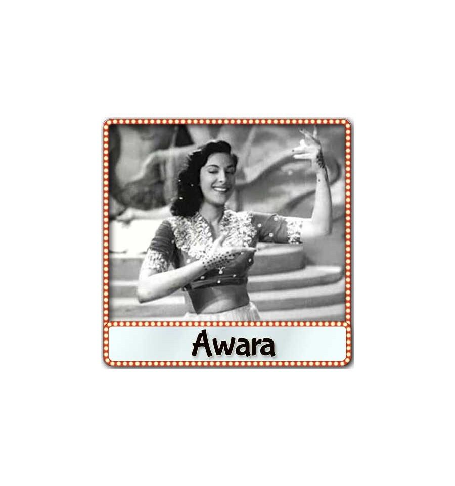 Ghar Aaya Mera Pardesi Karaoke | Awara Karaoke