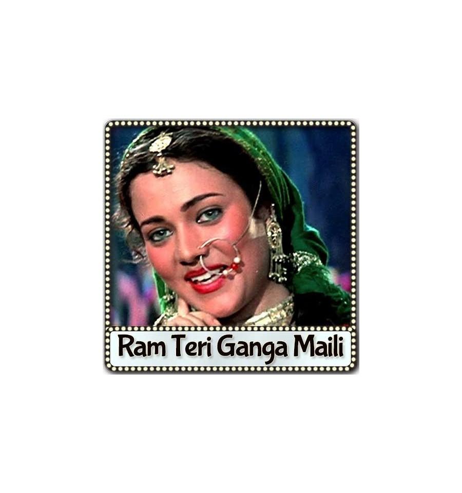 Ram Teri Ganga Maili Ho Gayi Karaoke | Ram Teri Ganga