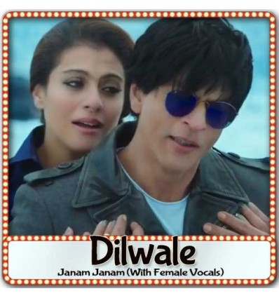 Janam Janam (With Female Vocal) - Dilwale (MP3 Format)