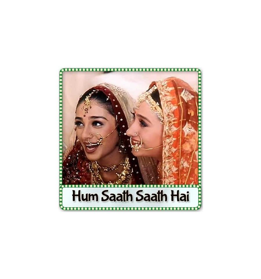 Ye To Sach Hai Ki Bhagwan Hai Karaoke | Hum Saath Saath