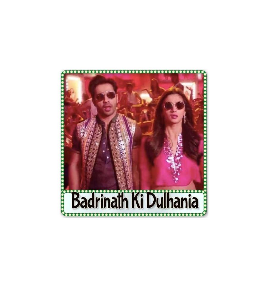 Aashiq Surrender Hua Karaoke   Badrinath Ki Dulhania Karaoke