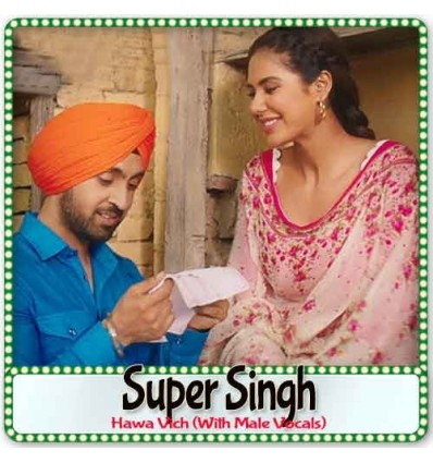 Hawa Vich (With Male Vocals) - Super Singh