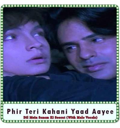 Dil Mein Sanam Ki Soorat (With Male Vocals) Karaoke - Phir Teri Kahani Yaad Aayee (MP3 Format)