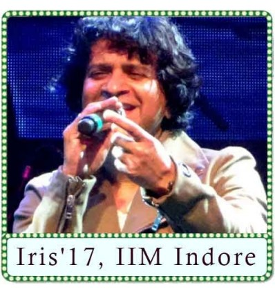 Bas ek pal live Karaoke - Iris'17, IIM Indore (MP3 Format)