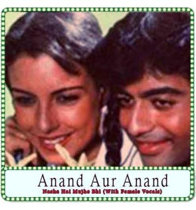 Nasha Hai Mujhe Bhi (With Female Vocals) Karaoke - Anand Aur Anand