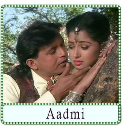 Dil Tere Naam Se Karaoke - Aadmi