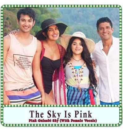 Pink Gulaabi Sky (With Female Vocals) Karaoke