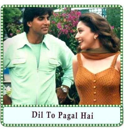 Chand Ne Kuch Kaha (Pyar Kar) Karaoke - Dil To Pagal Hai