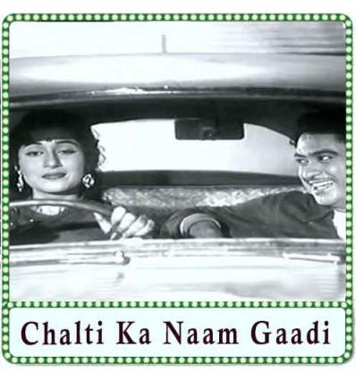 Ek Ladki Bheegi Bhaagi Si Karaoke - Chalti Ka Naam Gaadi (MP3 Format)